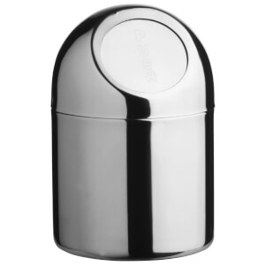 Fifty Five South Mini Waste Bin - Stainless Steel