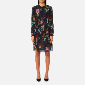 PS by Paul Smith Women's Mercury Floral Shirt Dress - Black