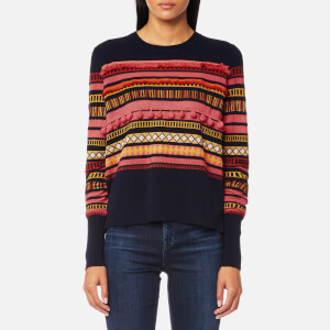 PS Paul Smith Women's Pom Pom Knitted Jumper - Black