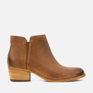 Clarks Women's Maypearl Ramie Leather Ankle Boots - Dark Tan