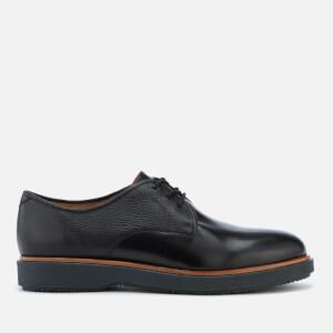 Clarks Men's Modur Walk Leather Derby Shoes - Black