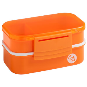 Grub Tub Lunch Box (2 Containers) Orange