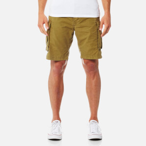 Superdry Men's Core Lite Ripstop Cargo Shorts - Squadron Green