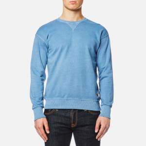 Superdry Men's Dry Originals Crew Sweatshirt - Dry Chalk Blue