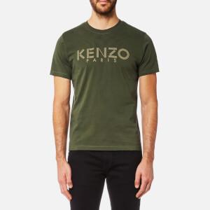 KENZO Men's KENZO Paris T-Shirt - Dark Khaki