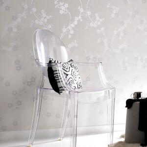 Superfresco Cherry Blossom Wallpaper - Floral White