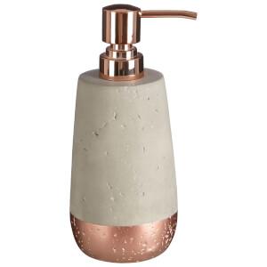Fifty Five South Neptune Lotion/Soap Dispenser 200ml - Concrete/Copper