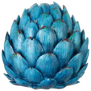 Fifty Five South Complements Artichoke Vase - Turquoise
