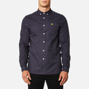 Lyle & Scott Men's Garment Dye Oxford Shirt - Washed Grey