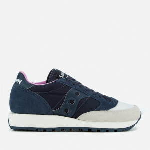 Saucony Women's Jazz Original Trainers - Cream/Navy