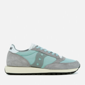 Saucony Men's Jazz Original Vintage Trainers - Grey/White