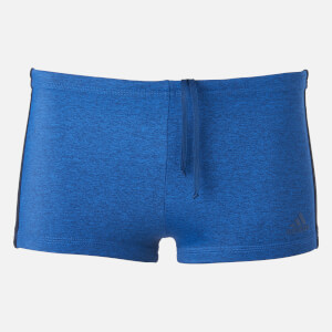 adidas Swim Men's Mel 3 Stripe Boxers - Legend Ink