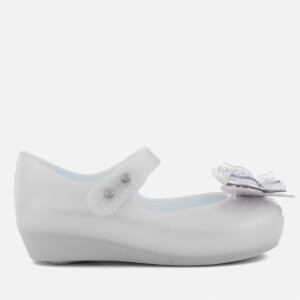 Mini Melissa Toddlers' Ultragirl Butterfly Ballet Flats - Frost