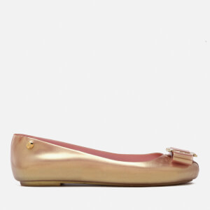 Vivienne Westwood for Melissa Women's Space Love 18 Ballet Flats - Rose Gold Buckle