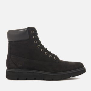 Timberland Women's Kenniston 6 Inch Leather Lace Up Boots - Black