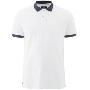 Threadbare Men's Compton Polo Shirt - White