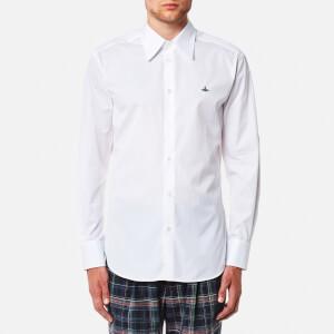 Vivienne Westwood MAN Men's New Poplin Classic Cutaway Shirt - White