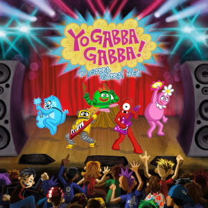BO Vinyle Yo Gabba Gabba - Yo Gabba Gabba Hey! - Bande Originale