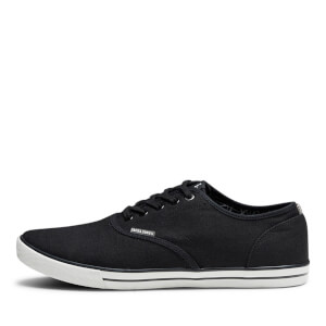 Chaussures Tennis en Toile Homme Scorpion Jack & Jones - Gris Anthracite: Image 4