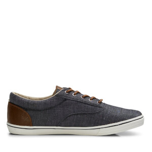 Jack & Jones Men's Vision Mix Chambray Pumps - Anthracite