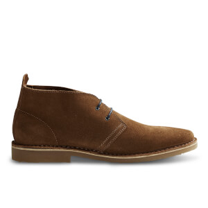 Bottines Desert Gobi Daim Jack & Jones - Marron Cognac
