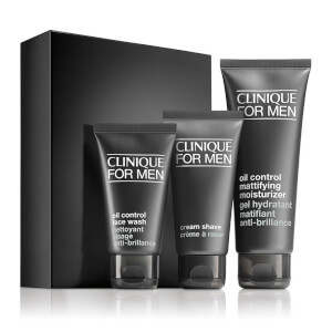 Clinique For Men Custom-Fit Daily Oil Control Set