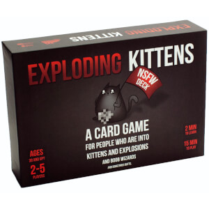 "Juego de cartas ""Exploding Kittens"" - Edición ""Not Safe For Work"""