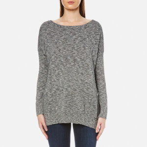 Barbour International Women's Suliven Knit Jumper - White/Black