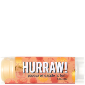 Бальзам для губ с ароматом папайи и ананаса Hurraw! Papaya Pineapple Lip Balm