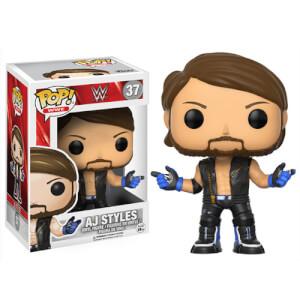 Figurine Pop! AJ Styles WWE