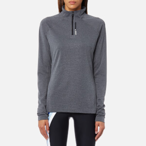 adidas Terrex Women's Tracerocker 1/2 Zip Long Sleeve Top - Grey Five