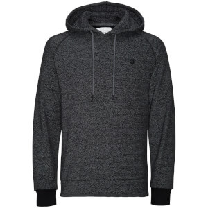 Jack & Jones Men's Core Win Textured Hoody - Black