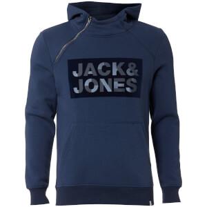 Jack & Jones Men's Core Kalvo Hoody - Sargasso Sea
