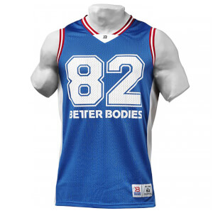 Better Bodies Tip-Off Tank - Bright Blue