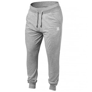 Better Bodies Soft Tapered Pants - Grey Melange