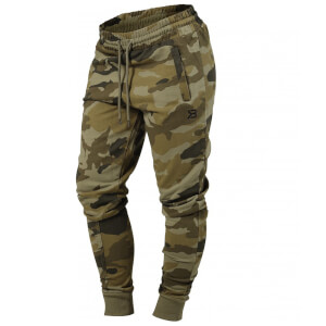Better Bodies Jogger sweat pants - Dark green camo