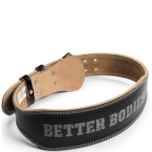 Better Bodies Weight Lifting Belt - Black