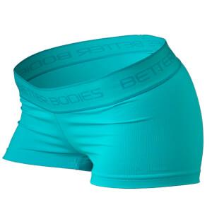 Better Bodies Fitness Hot Pants - Aqua Blue