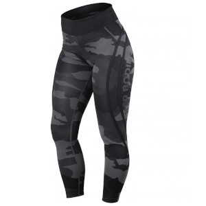 Better Bodies Camo high tights - Dark camo