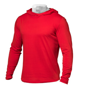 Better Bodies Men's Soft Hoody - Bright Red