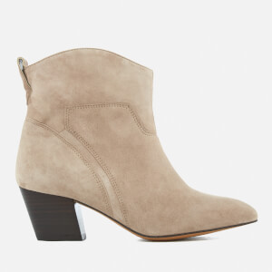 Hudson London Women's Karyn Suede Heeled Ankle Boots - Taupe
