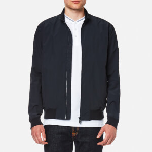 Barbour International Men's Runnel Waterproof Bomber Jacket - Navy