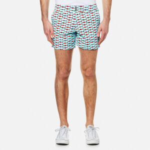 Vilebrequin Men's Merise All Over Print Swim Shorts - Fish Net