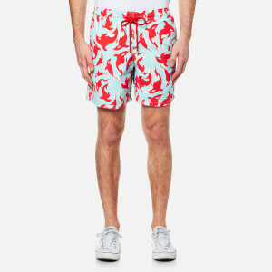 Vilebrequin Men's Moorea Printed Swim Shorts - Galak