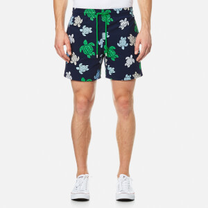Vilebrequin Men's Moorea Turtle Print Swim Shorts - Tortues Multicolores