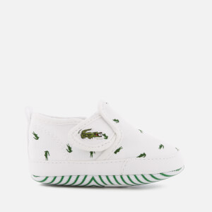 Lacoste Babies' Gazon Crib 116 2 Pumps - White/Dark Green