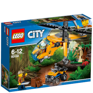 LEGO City: L'hélicoptère cargo de la jungle (60158)