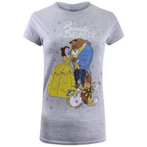 Beauty and the Beast Ladies Classic T-Shirt - Sport Grey