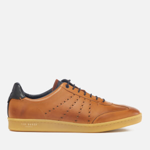 Ted Baker Men's Orlee Leather Cupsole Trainers - Tan