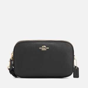 Coach Women's Clutch Cross Body Bag - Black